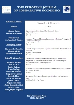 The European Journal of Comparative Economics